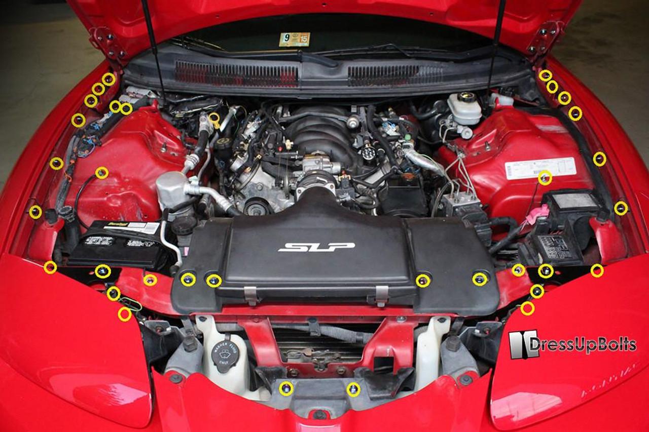 LS1 Intake Manifold Bracket GTO Corvette Camaro Trans Am OEM LSX Bolts Brace