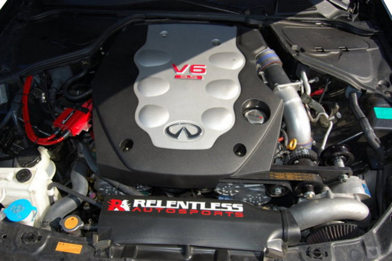 Vortech Supercharger Kit for Nissan 350Z