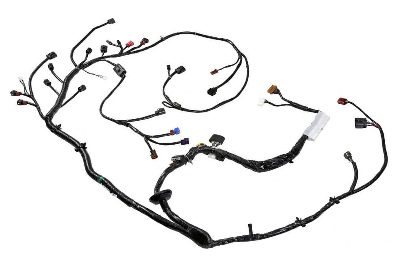 wiring specialties engine harness for nissan 240sx ka24de '91-'94 - enjuku  racing parts, llc  enjuku racing