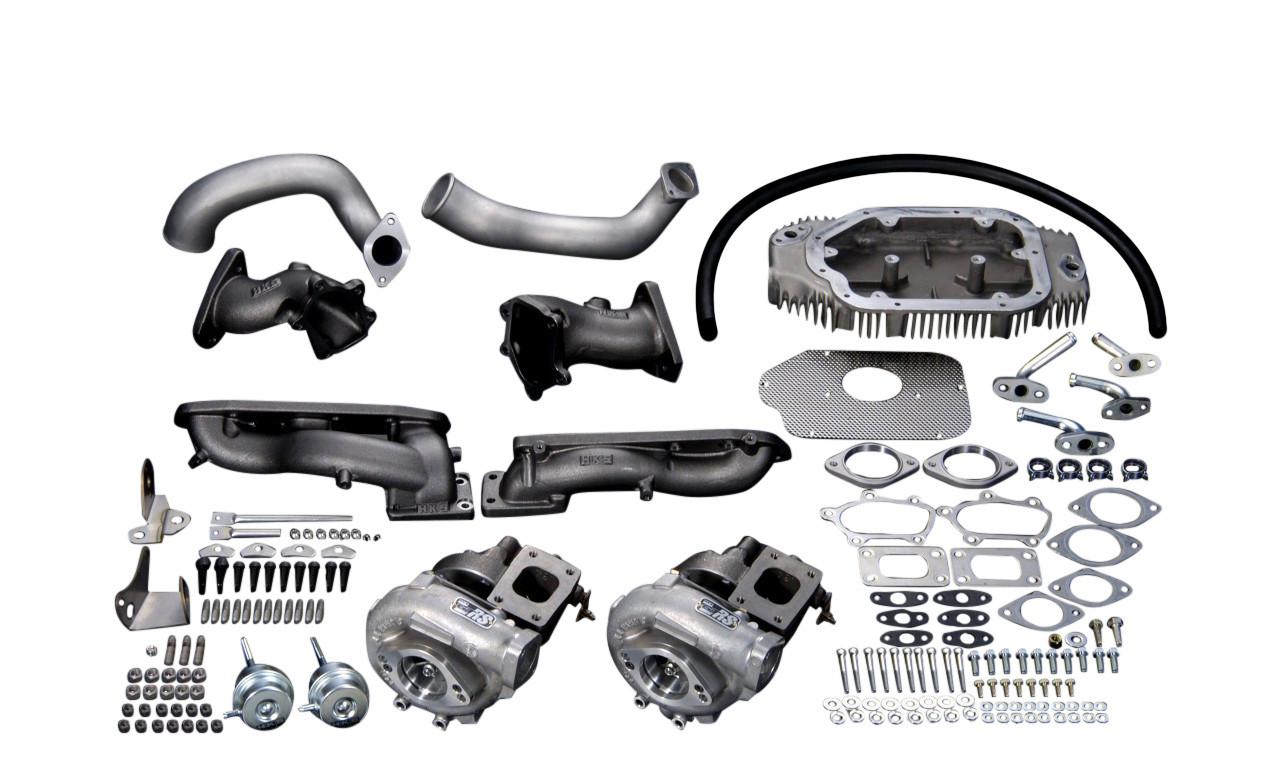 HKS- GT-SS Turbo Kit, Nisaan 350Z (03-05)