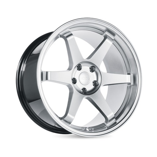 ESR Wheels SR07 18X9.5 5X120.6 (CUSTOM DRILL) +22 HYPER SILVER FACE HYPER SILVER LIP