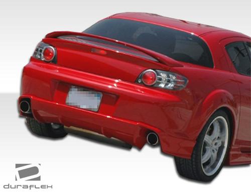 Duraflex M-1 Rear Lip/Add On for Mazda RX8 2004-2008