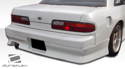 Duraflex V-Speed Rear Bumper for Nissan 240SX 1989-1994