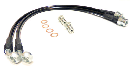 Enthuspec Performance Rear Stainless Steel Braided Brake Lines for Hyundai Genesis Coupe