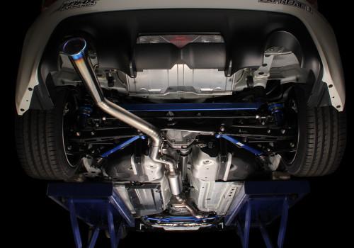 Tomei Expreme Ti Titanium Catback Exhaust Type 60R Subaru BRZ 2013-2014 / Scion FR-S 2013-2014