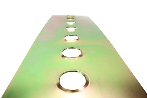 IS-9982-42MM ISR  Performance Universal Steel Gusset Dimple Plates - 42mm Holes