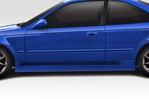Duraflex C Speed Sideskirts for Honda Civic 1996-2000