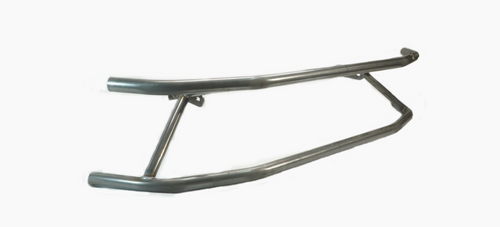 Limitless Auto Fab Dual Front Bash Bar No Braces - Raw for Nissan 240SX 89-94