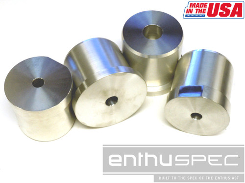 Enthuspec Solid Rear Sub Frame Risers for Hyundai Genesis Coupe'10+