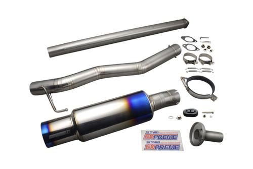 Tomei - Expreme Ti Titanium Muffler For Evo8,9 4G63 North American Bumper