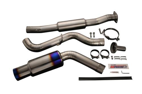 Tomei - Expreme Ti Titanium Muffler For Grb A-D/Grf B-D (5 Door Hatch Back) Jdm