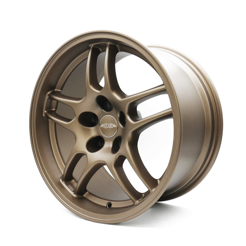 SQUARE Wheels G33 Model - 17x9  +15 5x114.3 - Limited Edition Textured Bronze - (Set of 4 Wheels)