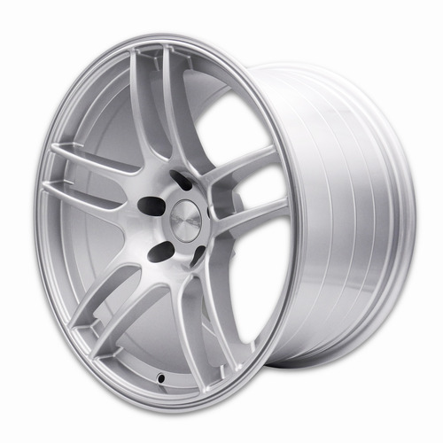 SQUARE Wheels - Flow Formed G33 R Model - 18x10.5 +15 5x114.3 - Silver