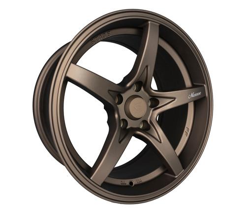 Stage Wheels Monroe 17x9 +12mm 5x114.3 CB: 73.1 Color: Matte Bronze