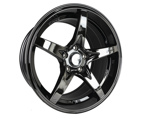 Stage Wheels Monroe 17x9 +12mm 5x114.3 CB: 73.1 Color: Black Chrome