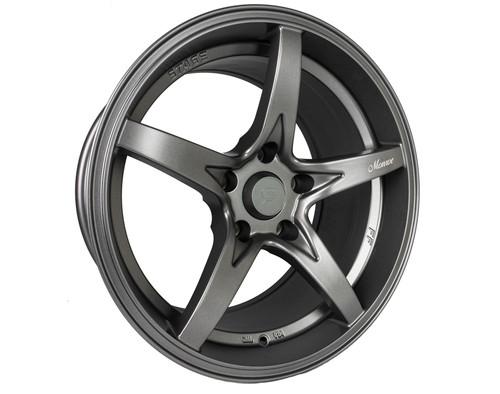 Stage Wheels Monroe 17x9 +12mm 5x114.3 CB: 73.1 Color: Matte Gun Metal