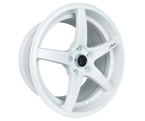 Stage Wheels Monroe 17x9 +12mm 5x120 CB: 74.1 Color: White