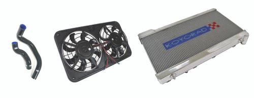 Koyo Radiator Cooling Package - Nissan 240sx SR20DET