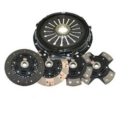 Competition Clutch - Stage 2 - Steelback Brass Plus - Plymouth Laser 2.0L Non-Turbo FWD and AWD (From 05/89 without speed control) 1989-1991