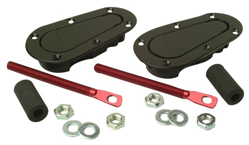 AeroCatch Plus Flush Lightweight Hood Pins - Non Locking