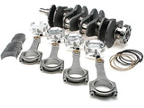 """Brian Crower - Stroker Kit - Nissan Sr20De(T) - 91Mm Billet Crank, I Beam Rods (5.366""""), Custom Pistons"""
