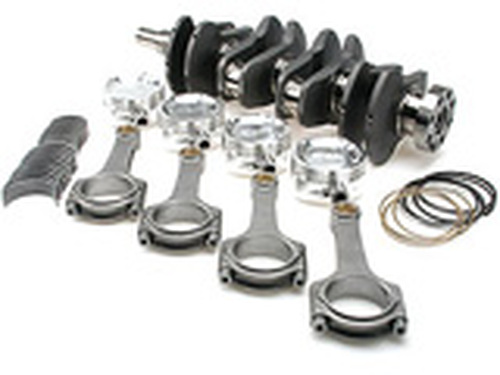 Brian Crower - Stroker Kit - Toyota 2Jzgte/2Jzge - 94Mm Billet Crank, Carrillo H-Beam Rods W/Carr Bolts, Pistons
