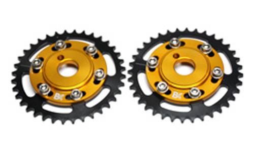 Brian Crower - Adjustable Cam Gears W/Arp Fastener Bolts - (Mitsubishi 6G72) - Set/4