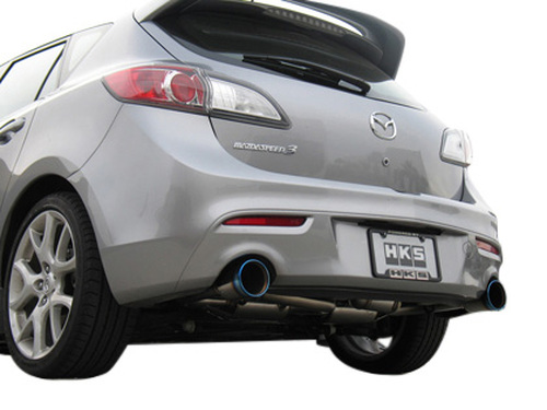 HKS [Mazda 3(2007)] HKS Hi-Power Exhaust Hi-Power Exhaust