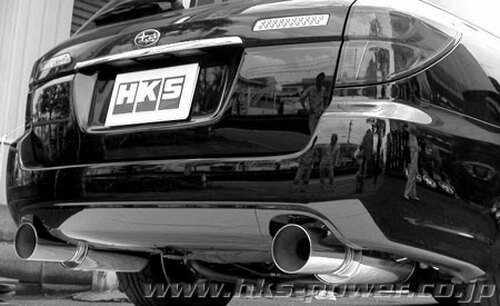 HKS [Subaru Legacy(2005-2007)] HKS Hi-Power Exhaust Hi-Power Exhaust; Dual Silent Hi-Power