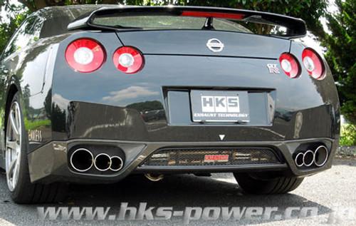 HKS HKS 3SX MUFFLER for VR38DETT GT-R (R35)