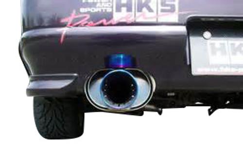 HKS Super Turbo Muffler SKYLINE GT-R RB26DETT