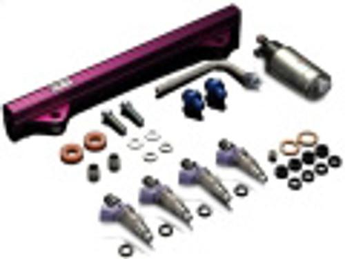 HKS WRX STi (GRB/F) Fuel Uprade Kit 650cc; Includes x4 Top Feed/High Impedance injectors & upgraded fuel pump