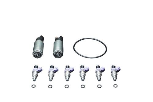 HKS FUEL UPGRADE KIT GT-R (R35); (6x) 860cc Injectors and (2x) Fuel Pumps (2009-2010)