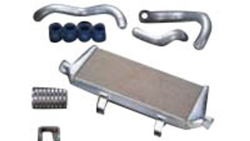 HKS [Mazda Rx-7(1993-1995)] HKS Intercooler Kits V-Mount Intercooler Kit; Racing Suction Reloaded Kit Required; Smaller Battery Required; For Stock Turbos