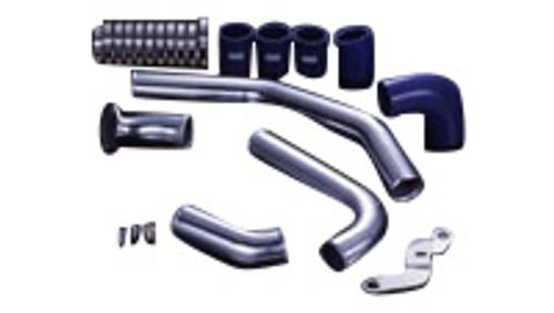 HKS I/C PIPE KIT (R35) GT-R; Polished Aluminum (2 Inlet / 4 Outlet) (2009-2010)
