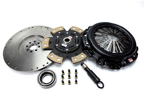 """Competition Clutch - Nissan Silvia """"Red Bunny"""" Upgrade for SR20DET - 6 Puck Clutch"""