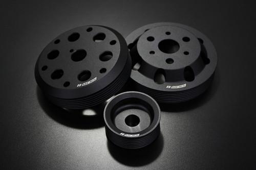 Works Engineering FRS Lightweight Pulleys (3 Piece Set) for Scion FR-S & Subaru BRZ
