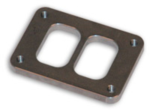 """Vibrant Performance - T04 Turbo Inlet Flange (Divided Inlet) - 1/2"""" thick"""