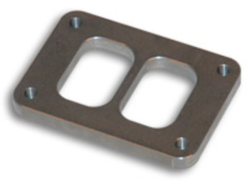 """Vibrant Performance - T06 Turbo Inlet Flange (Divided Inlet) - 1/2"""" thick"""