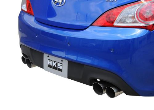 HKS Legamax Premium Axle-Back Exhaust  - Hyundai Genesis Coupe
