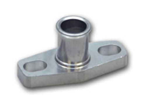 """Vibrant Performance - Oil Drain Flange w/ 5/8"""" OD Male Neck (for T3/T4 and GT40-GT55 Turbos)"""