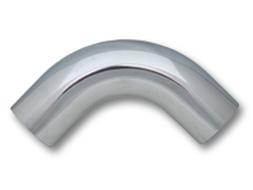 "Vibrant Performance - 4"" O.D. Aluminum 90 Degree Bend - Polished"