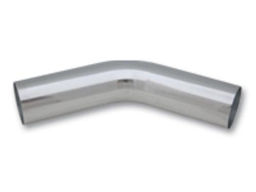"Vibrant Performance - 2.25"" O.D. Aluminum 45 Degree Bend - Polished"