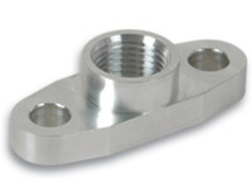 Vibrant Performance - Oil Drain Flange (for use with T3, T3/T4 and T04 Turbochargers)