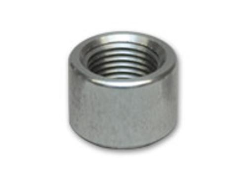 "Vibrant Performance - Female -4AN Aluminum Weld Bung (7/16"" - 20 Thread, 3/4"" Flange OD)"