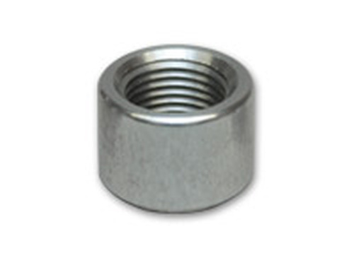 "Vibrant Performance - Female -6AN Aluminum Weld Bung (9/16"" - 18 Thread - 7/8"" Flange OD)"