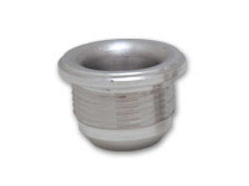 """Vibrant Performance - Male -20AN Steel Weld Bung (1-5/8-12 SAE Thread; 1-3/4"""" Flange OD)"""