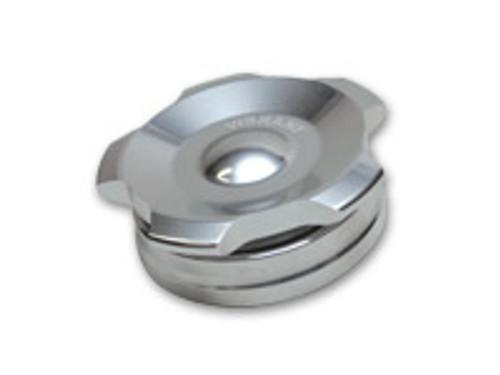 "Vibrant Performance - 2.75"" OD Aluminum Weld Bung + Polished Aluminum Threaded Cap"