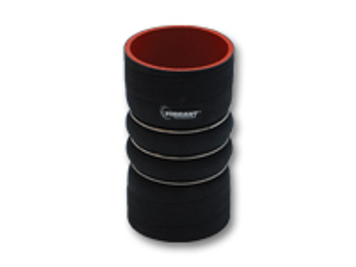 Vibrant Performance - 4Ply Aramid Reinforced Hump Hose Connector with 3 Reinforcement Rings