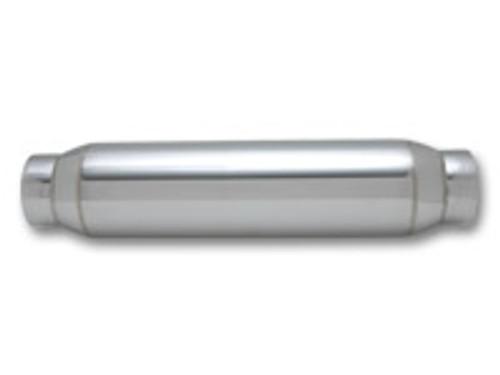 "Vibrant Performance - Large Diameter Bottle Style Resonator, 4"" inlet/outlet x 18"" long"